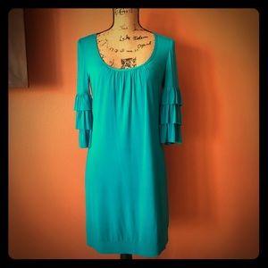 Teal Trina Turk Dress